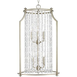 Joines 6-Light Crystal Chandelier by Hous..