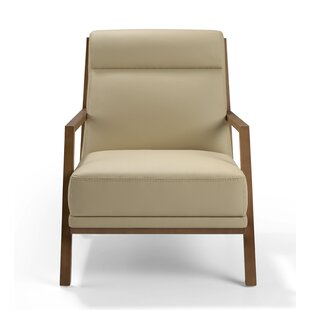 Superieur Vaccine Leather Upholstered Armchair
