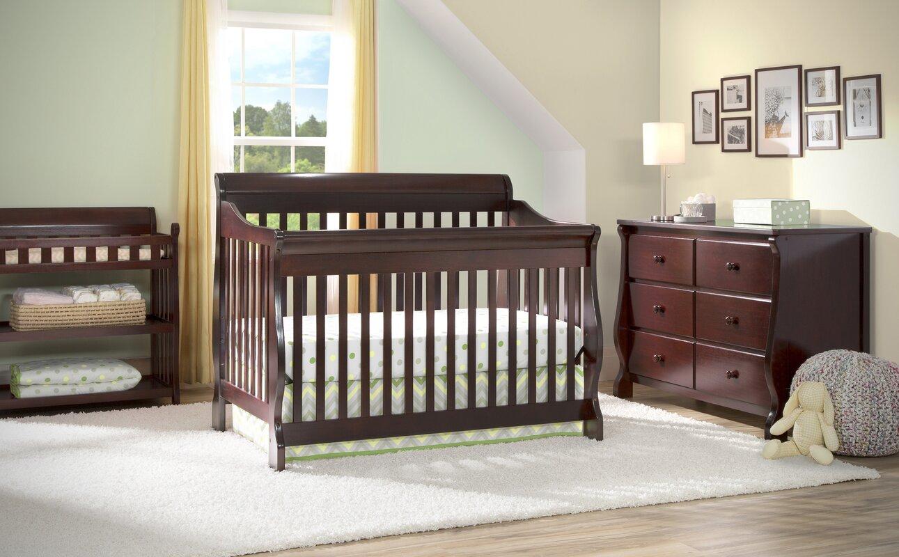 Canton 4 In 1 Convertible Crib