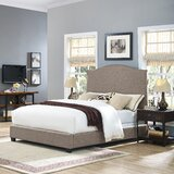 Benedict Camelback Upholstered Standard Bed by Alcott Hill®