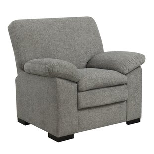 Kober Pebbled Accent Armchair by Charlton Home