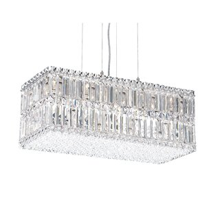 Schonbek Quantum 18-Light Kitchen Island Pendant