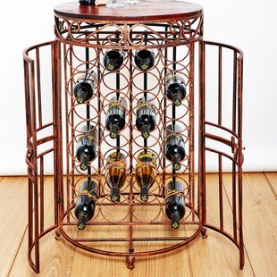 Russian River Jail 24 Bottle Floor Wine Bottle Rack