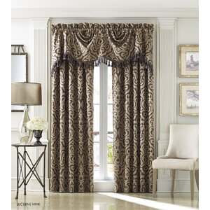Hobbs Damask Single Curtain Panel