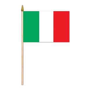 Italian Polyester 4x6 Rectangle Flag (Set Of 12) by The Beistle Company