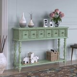 Enver 48.03 Solid Wood Console Table by August Grove®