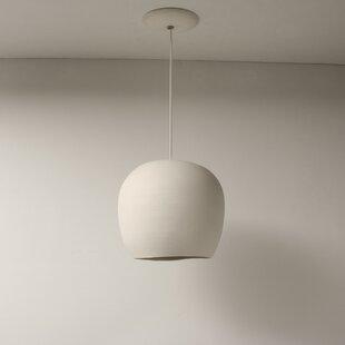 Newmanstown 8.5? Porcelain Symmetrical Pendant by Bloomsbury Market