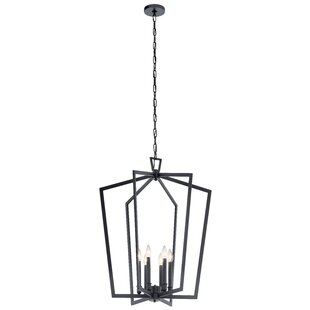 Gracie Oaks Adona 6-Light Lantern Chandelier