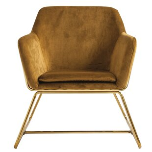 Wesson Velvet Armchair by Union Rustic