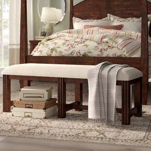 Schaffer Upholstered Bench by Birch Lane™ Heritage