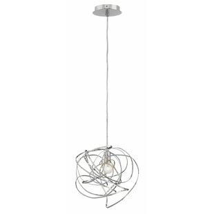 Rumor 1-Light Globe Pendant by Fredrick Ramond
