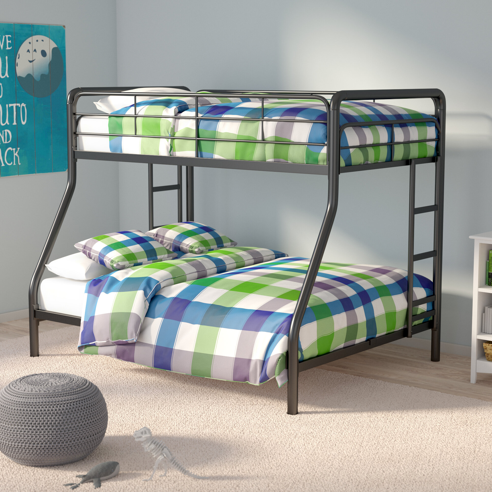 Picture of: Viv Rae Maryanne Twin Over Full Bunk Bed Reviews