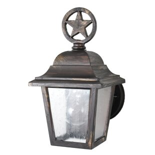 Penfield 1-Light Outdoor Sconce By Alcott Hill Outdoor Lighting