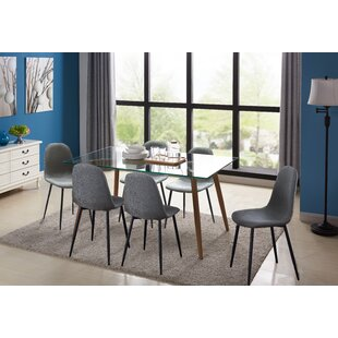 Cavallaro 7 Piece Dining Set by George Oliver Today Only Sale