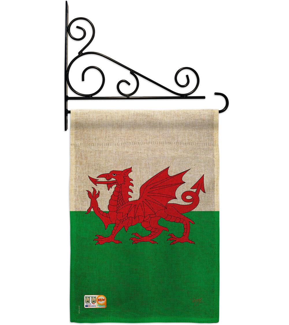 Breeze Decor Wales 2 Sided Burlap 19 X 13 In Garden Flag Wayfair
