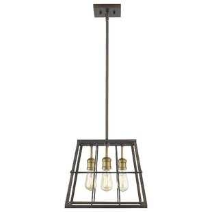 Thorson 4-Light Geometric Chandelier by Williston Forge