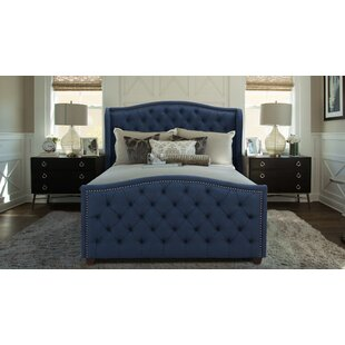 Marlon Upholstered Panel Bed