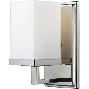 Chrome Sconces Youll Love Wayfair - Sconce bathroom