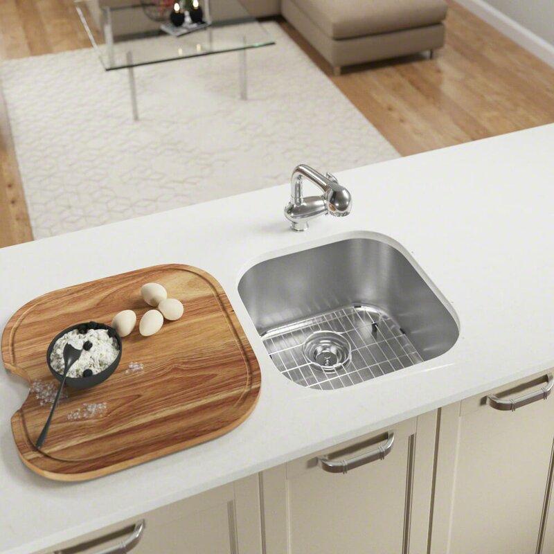 Mrdirect Stainless Steel 20 X 20 Undermount Bar Sink Wayfair