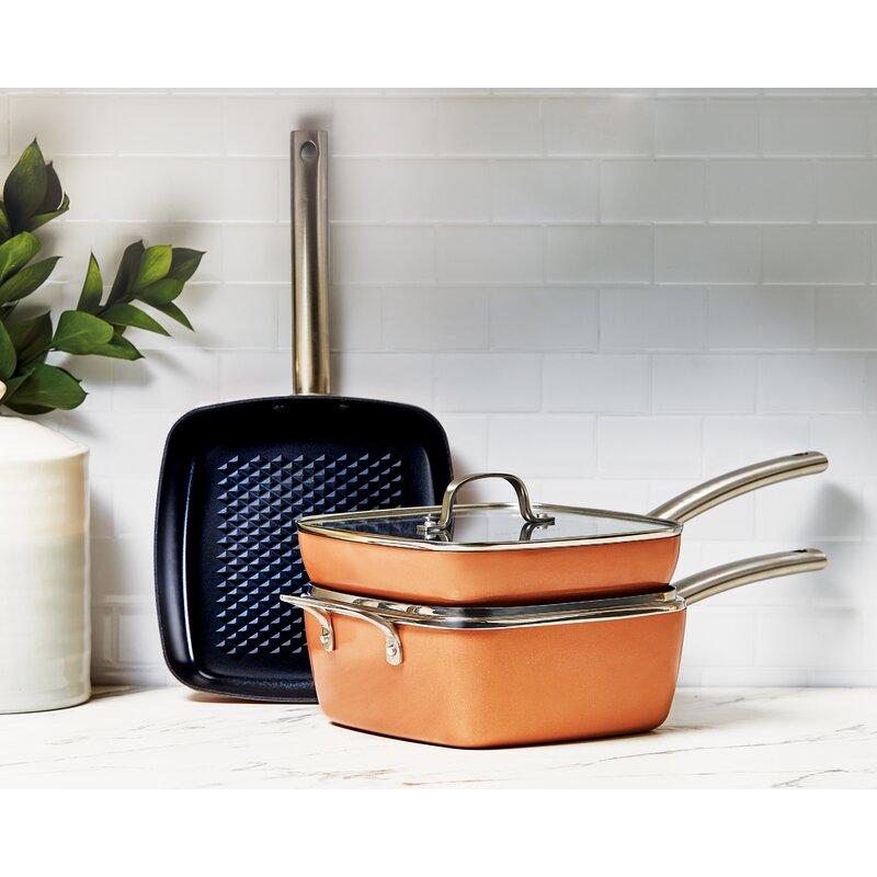 Copper Chef Black Diamond 5 Piece Cookware Set Reviews Wayfair