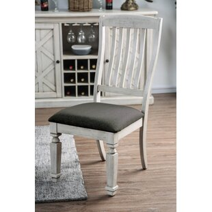 Ophelia & Co. Tomas Solid Wood Dining Chair (Set of 2)