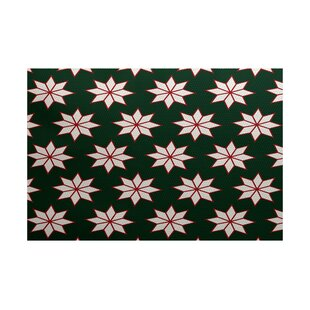 Christmass Green Indoor/Outdoor Area Rug
