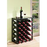 Fulford 32 Bottle Floor Wine Bottle Rack by Latitude Run