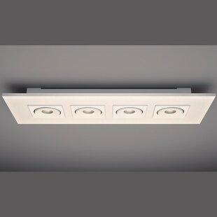 ZANEEN design Marc 4-Light Flush Mount