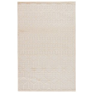 Shop for Dane Bright Cream Area Rug By Wrought Studio