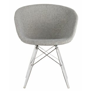 Barrette Modern Upholstered Dining Chair by George Oliver New Design