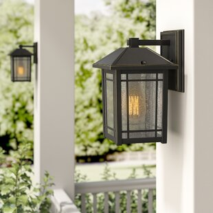 Order Beams 1-Light Outdoor Wall Lantern By Darby Home Co