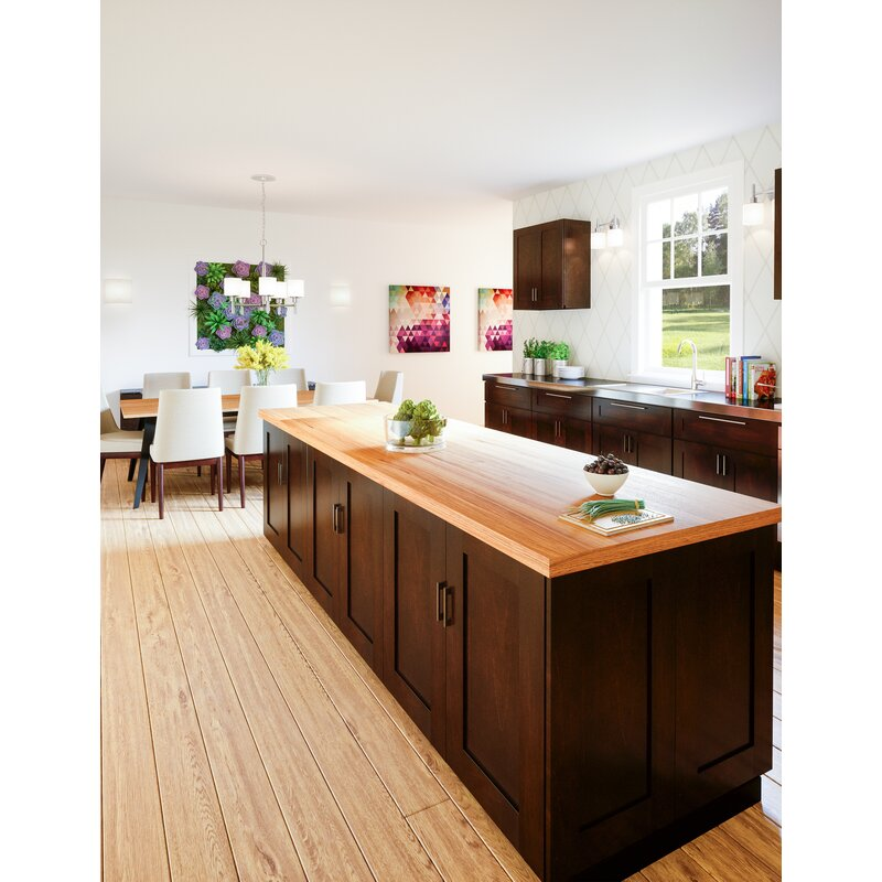Ebern Designs Frits Frits 84 Kitchen Pantry