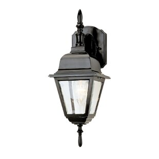 Best Price Lyndon 1-Light Outdoor Wall Lantern By Charlton Home