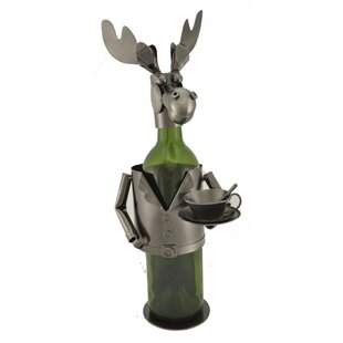 Moose Chef 1 Bottle Tabletop Wine Rack by..