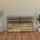 Tarawa Solid Wood TV Stand for TVs up to 55 by Millwood Pines