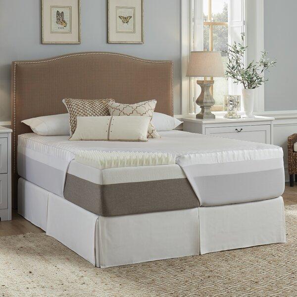 Luxury Solutions 3 Memory Foam Mattress Topper Reviews Wayfair