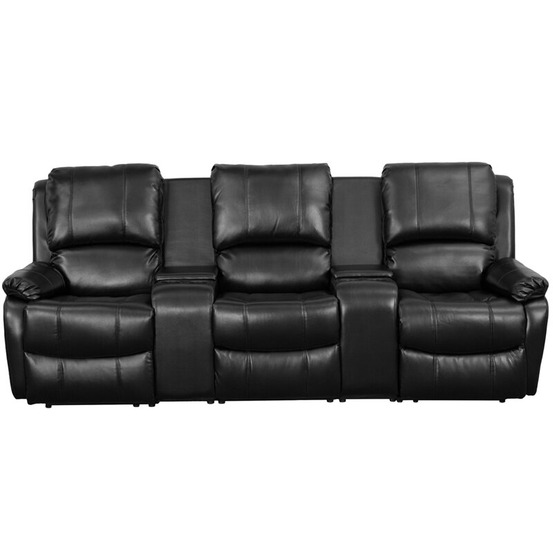 Superieur Leather Home Theater Sofa