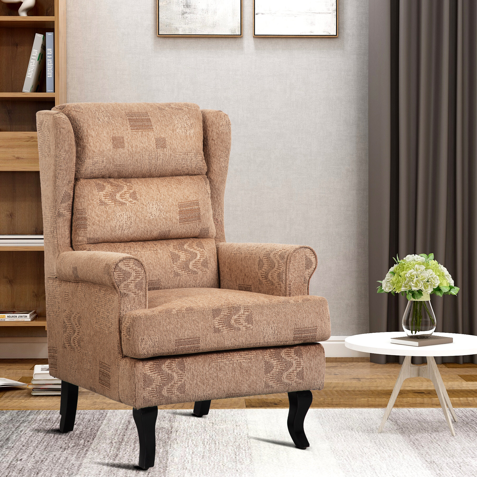 Picture of: Red Barrel Studio Reber High Back Wingback Chair Reviews