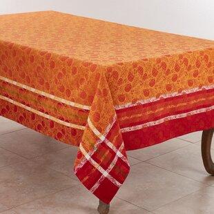 Square Winston Brands Embroidered Cornucopia Table Linens Square