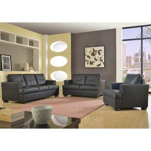 Cecilia 3 Piece Living Room Set