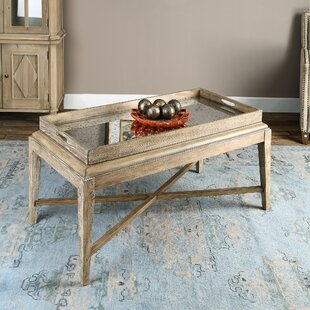 Woodhaven Coffee Table with Tray Top