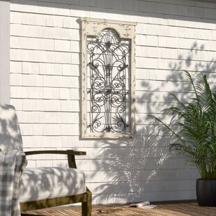 Gate White Wood And Metal Wall Décor By One Allium Way