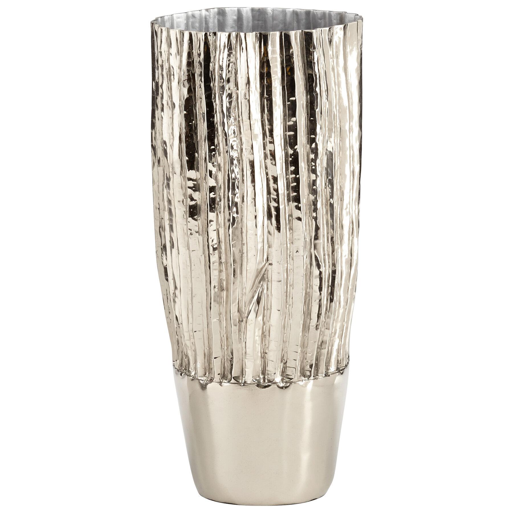 Cyan Design Nickel Metal Table Vase Wayfair