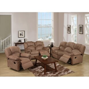 Cannady Reclining 3 Piece Living Room Set by Red Barrel Studio