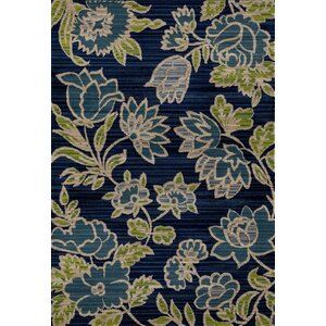 Arbor Navy Blue Area Rug