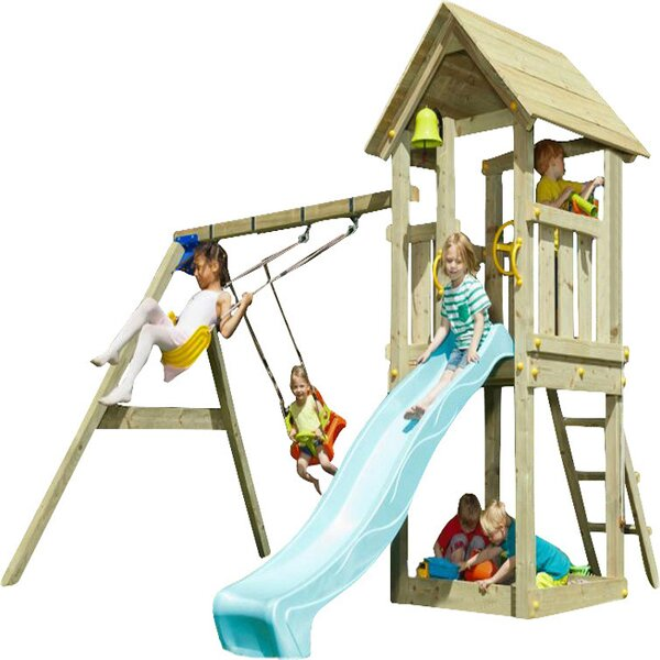 Climbing Frames, Wooden Climbing Frames & Play Centres | Wayfair.co.uk