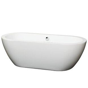 Soho 68 x 31 Freestanding Soaking Bathtub by Wyndham Collection
