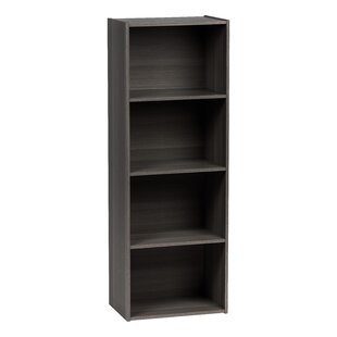 IRIS USA, Inc. 4 Tier Wood Storage Standard Bookcase