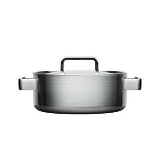 Sarpaneva Steel Round Casserole