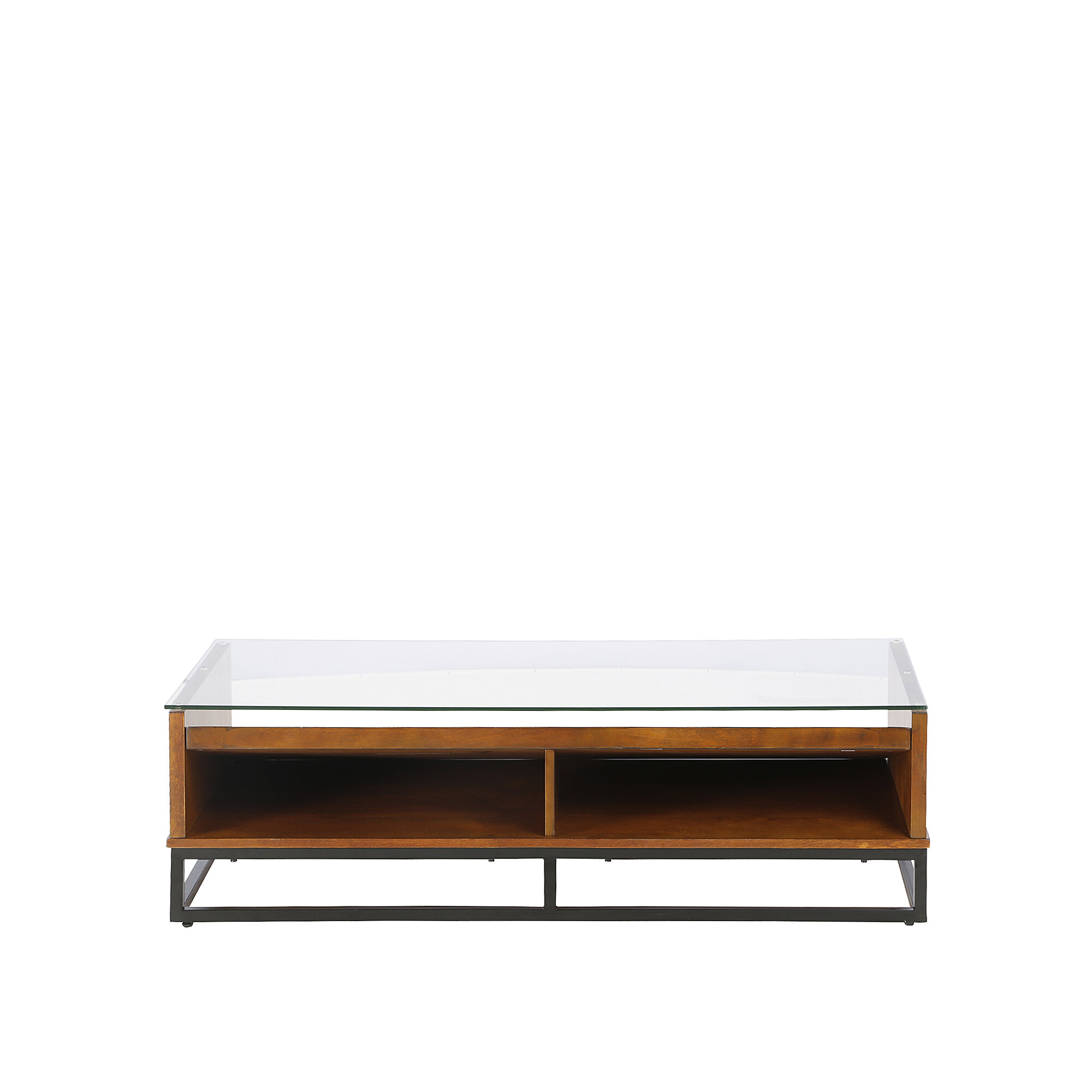Zariah Coffee Table With Display Storage